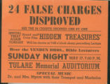 24 False Charges Disproved