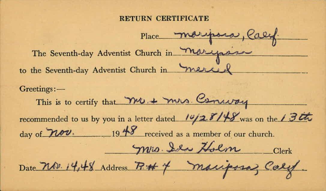 Adventist Records